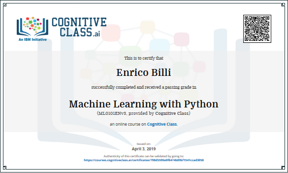 enrico-billi-machine-learning-with-python-cognitive-class-ibm